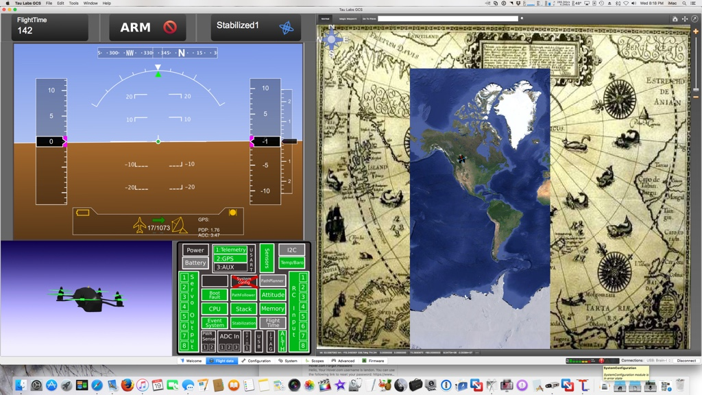 Brain FPV Flight Controller - Open Source (Tau Labs) Full