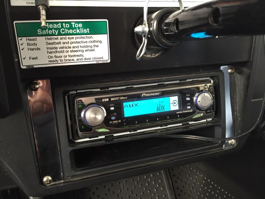 Diy Stereo Mount - Yamaha Viking Forum