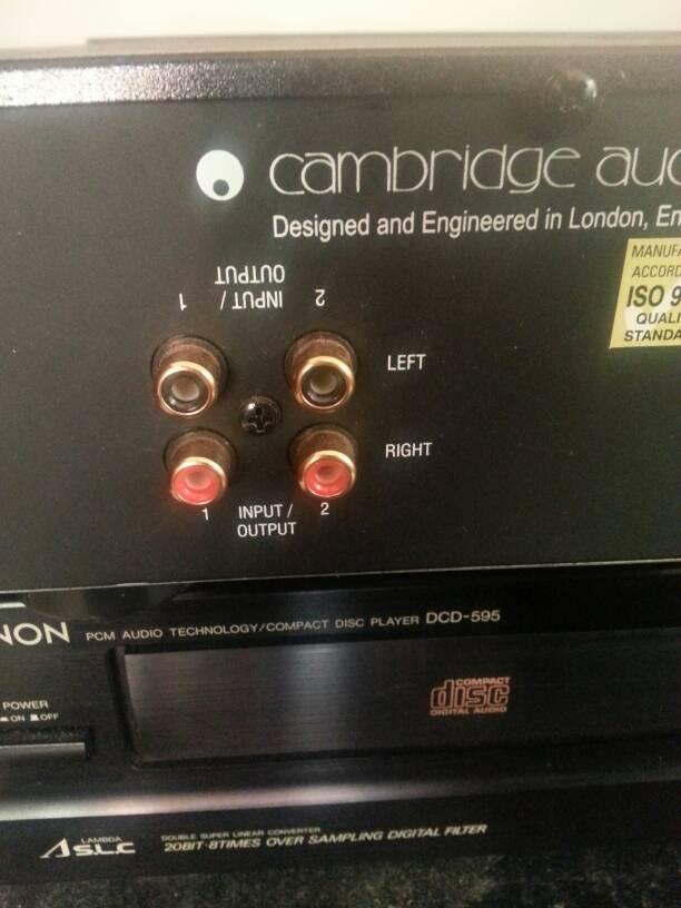 Cambridge P500 power amp
