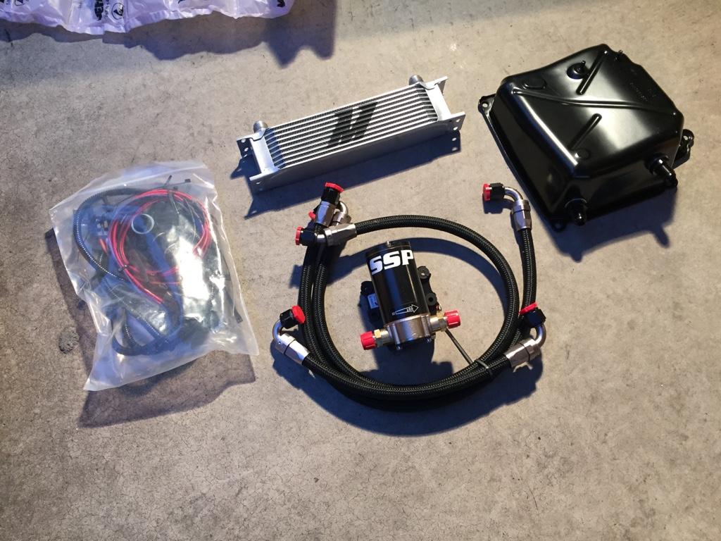 SSP DSG Cooler Kit