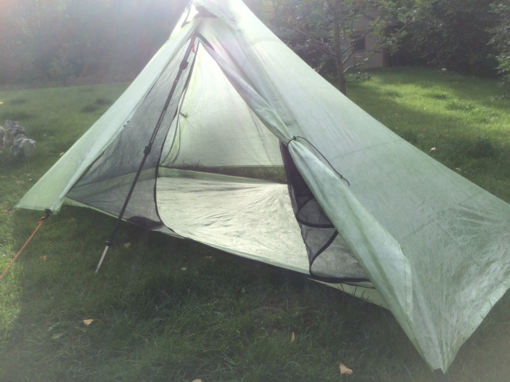 Definitely not as light as you can get but it works for me. Sorry to the OP I just realized this thread is titled  Tent vs. Bivy . & Tent vs Bivy