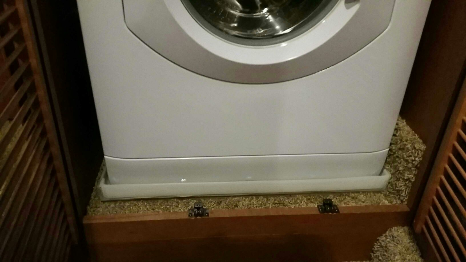 Drip Pan Not Included In The After Purchase Washer Installation