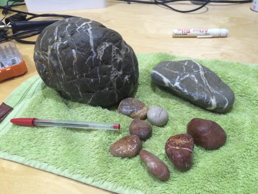 es muy grave poner piedras calcareas??