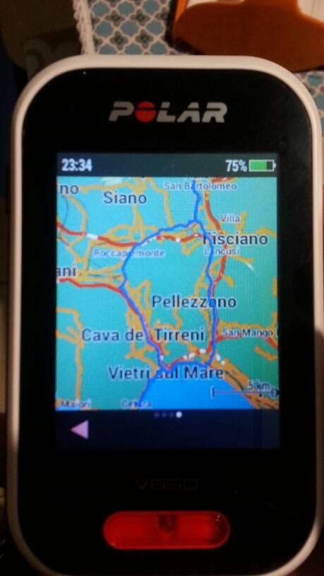 mappe polar v650