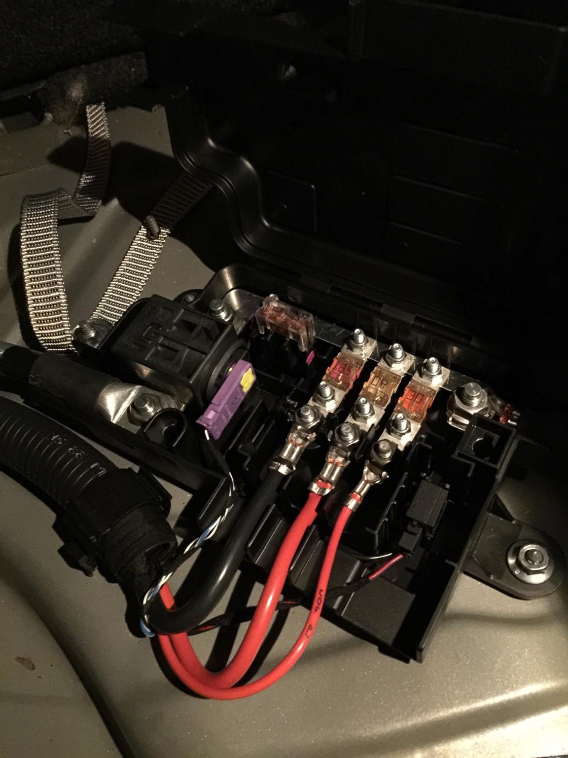 Battery fuse box wires | VW Vortex - Volkswagen ForumVW Vortex