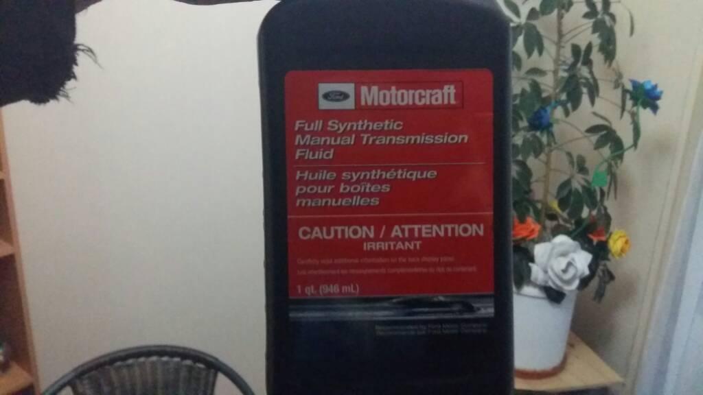 2012 ford fiesta manual transmission fluid