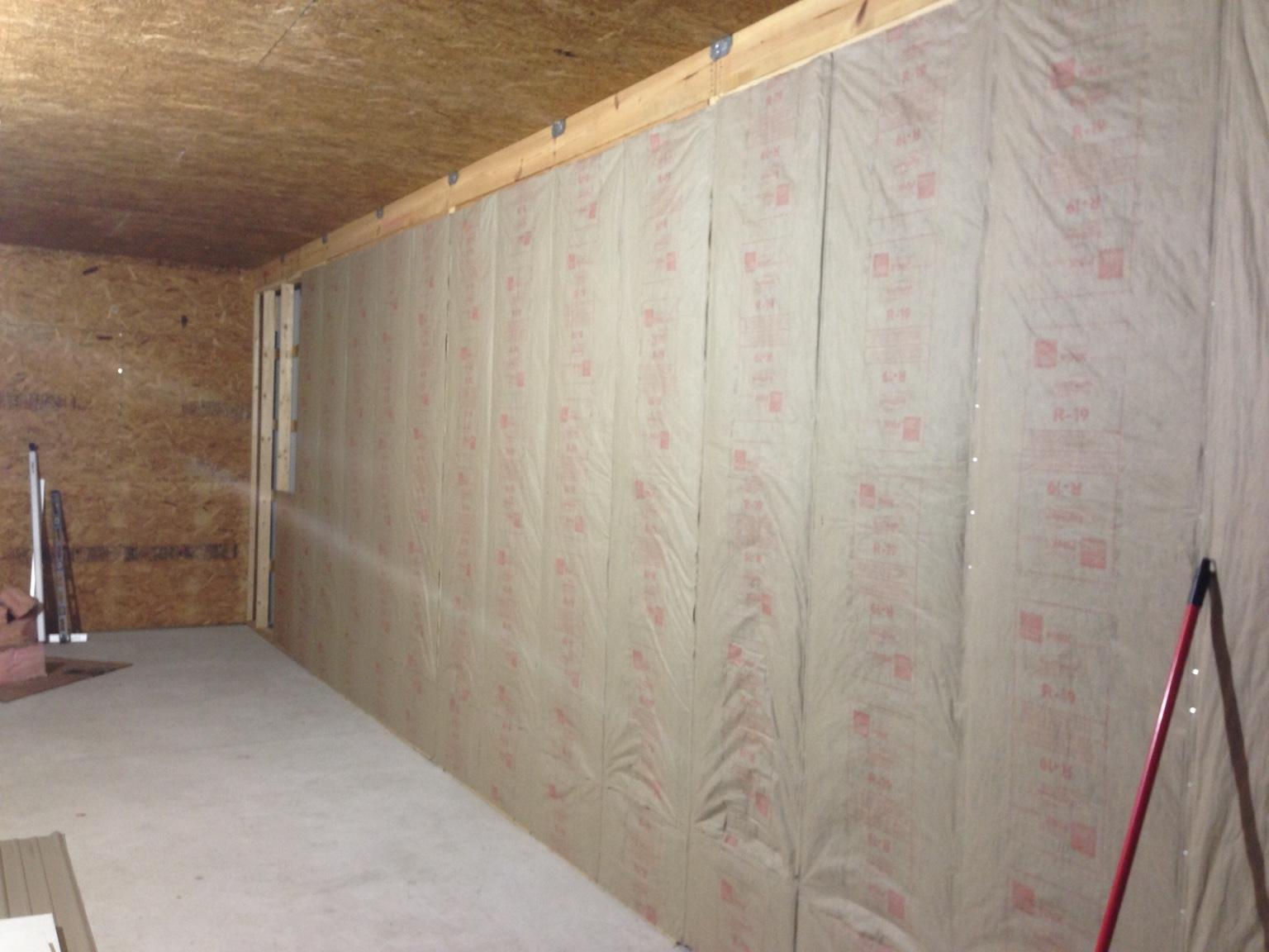 Pole Barn - Vapor Barrier - Yes or No - The Garage Journal Board