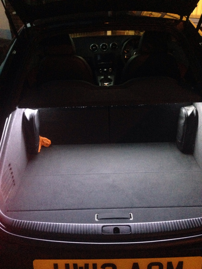 The Audi Tt Forum View Topic Boot Light Not Working