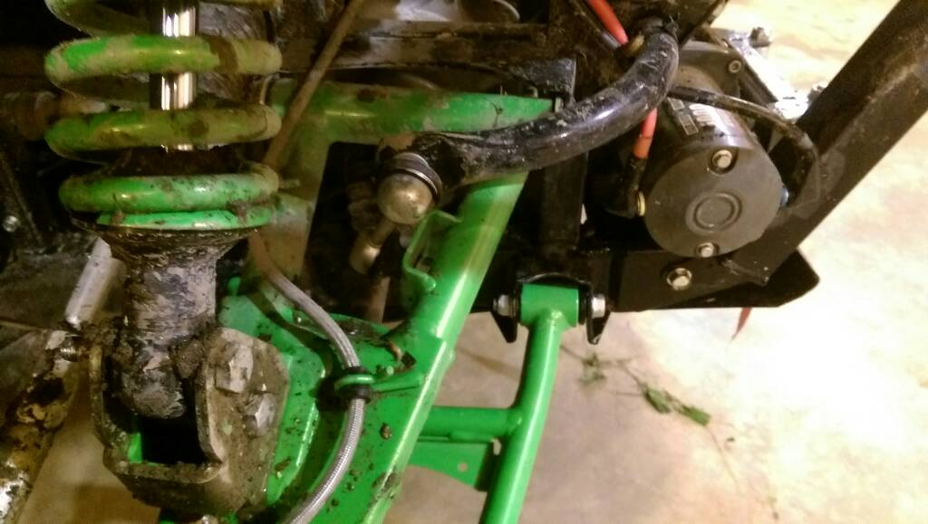 Teryx frame straighten/repair