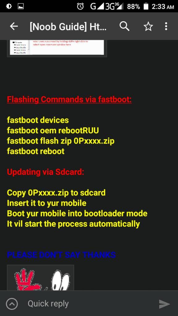 Noob Guide] Htc zip format file flashing & Via SdCard