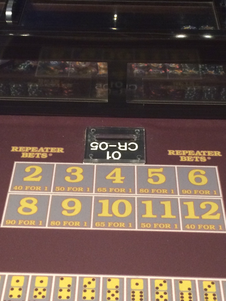 Craps repeater bet game is bull crap a swear word