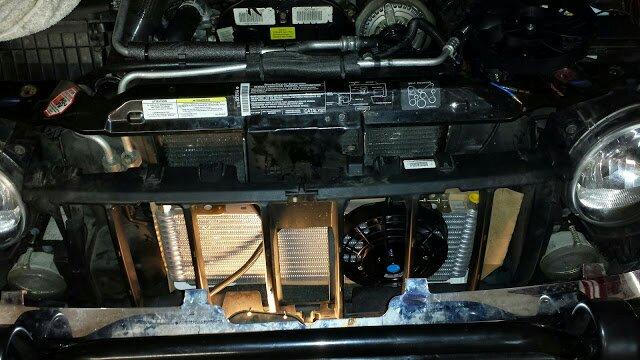 A//C Condenser For Jeep Cherokee Kk Petrol /& Diesel 2008-2012