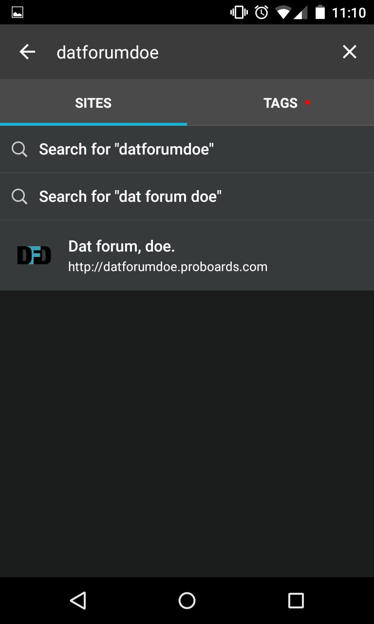 Members can't find and add forum in app  - Tapatalk Support