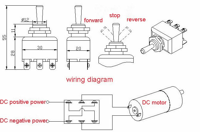 6 pole switch for reversing a dc motor bladeforums com rh bladeforums com 8 Pole Motor Design Four Pole Motor