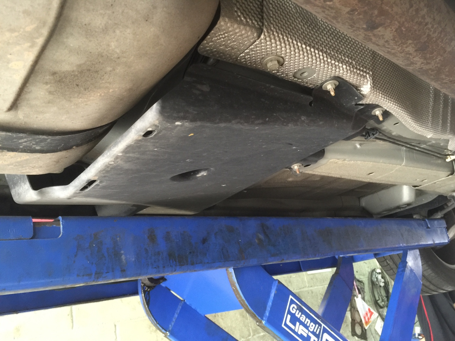 Undercarriage Plastic Protector - What is it called?