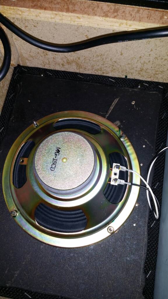 marshall mg upgrade marshall mg100hdfx a junk speaker which i changed to this