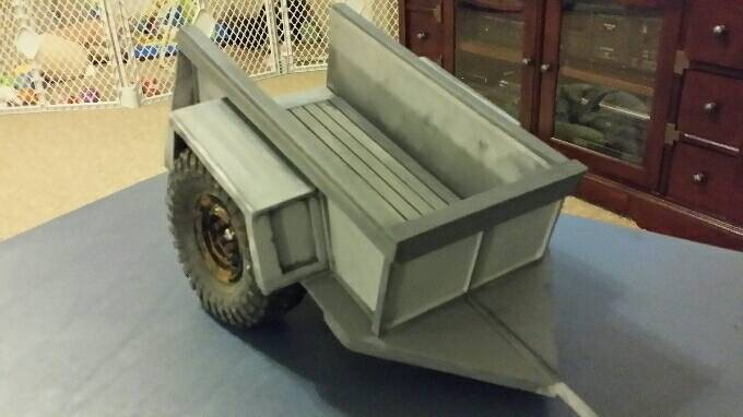 first rc trailer build rccrawler