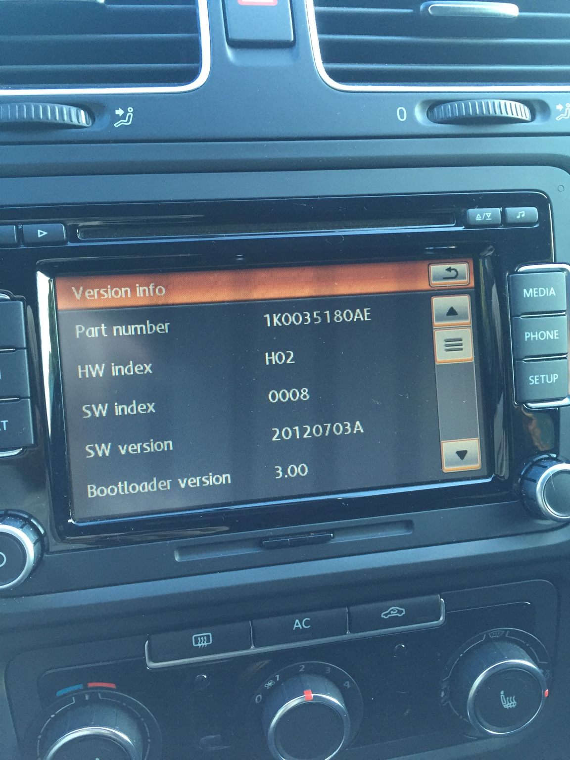 RCD 510 firmware/software update problems    help! - VW GTI MKVI