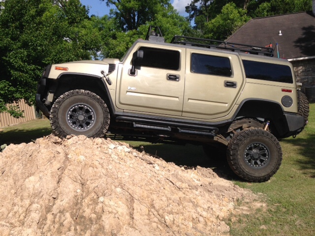 Show Your H2 Lifttires