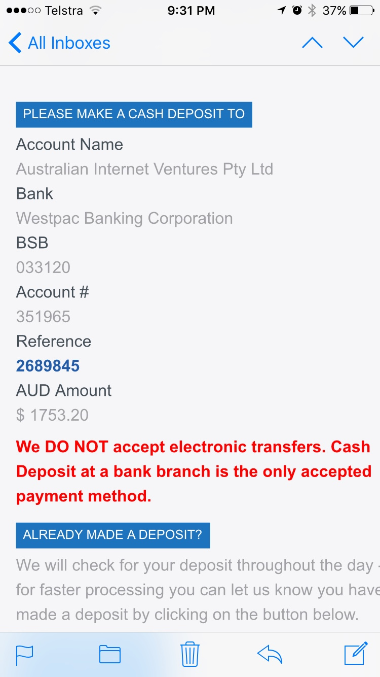 Aussie brothers beware Hypertrophy Labs (SCAMMER) [Archive