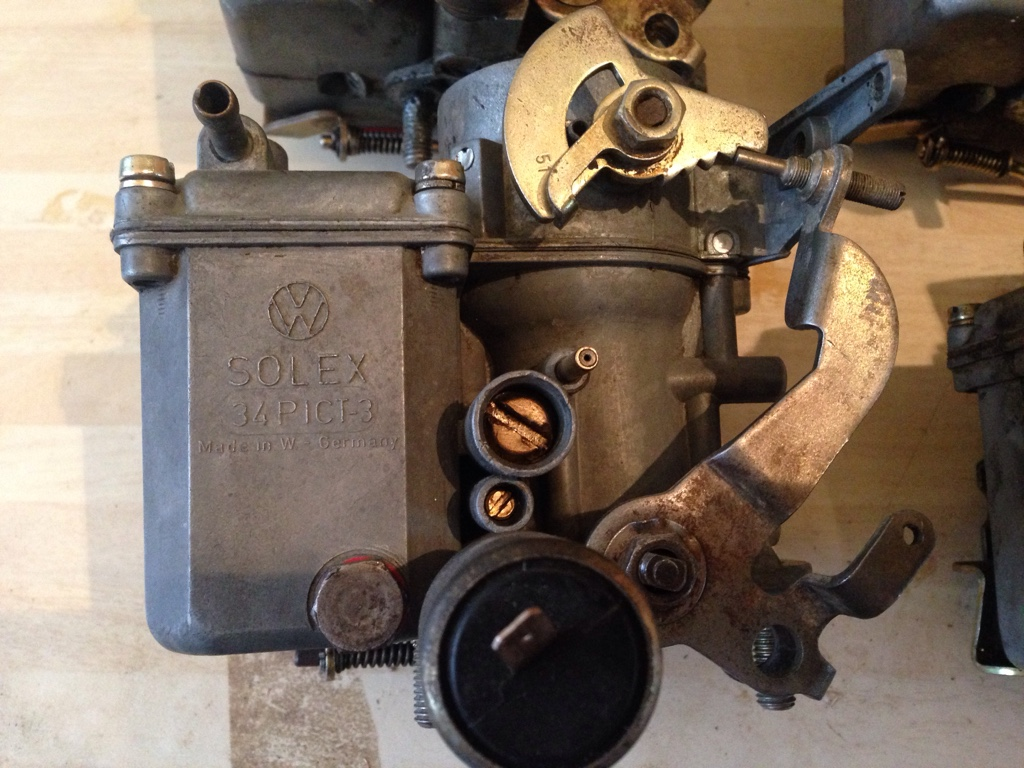 FOR SALE - 4X solex 34 Pict-3 carbs   The Late Bay