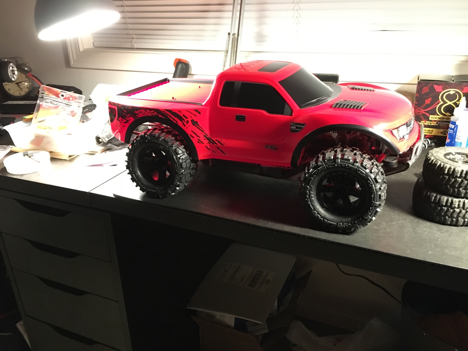 Slash Raptor Monster Truck