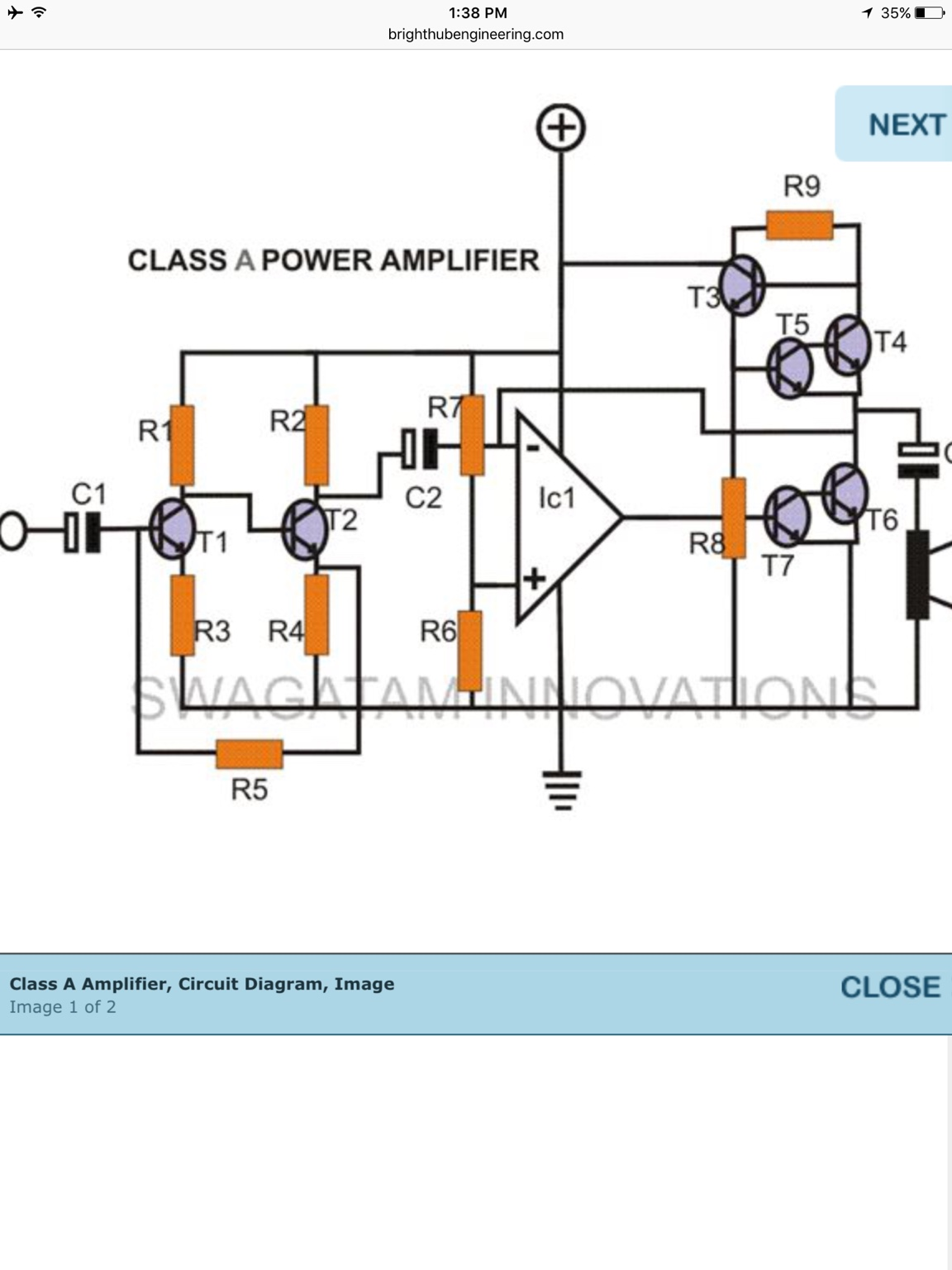 Did Class A Amplifier Is This Schematic Good Diyaudio D Circuit Diagram Click The Image To Open In Full Size