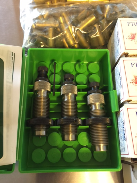 FS 454 Casull Reloading die set, Freedom Arms Bullets and