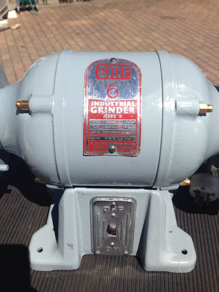 Show Us Your Vintage Bench Grinders Archive Page 4 The Delta Grinder Wiring Diagram Garage Journal Board