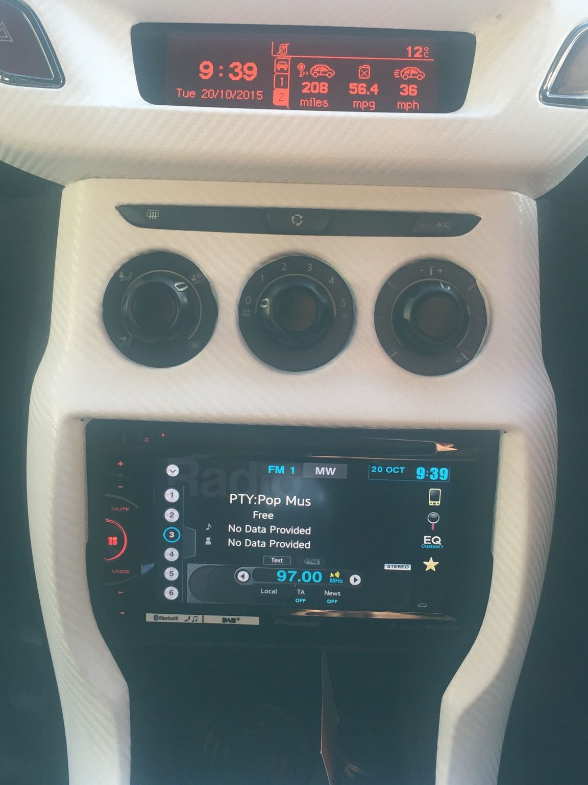 Touch screen radio upgrade - DS3 Owners Club - DS3Club co uk