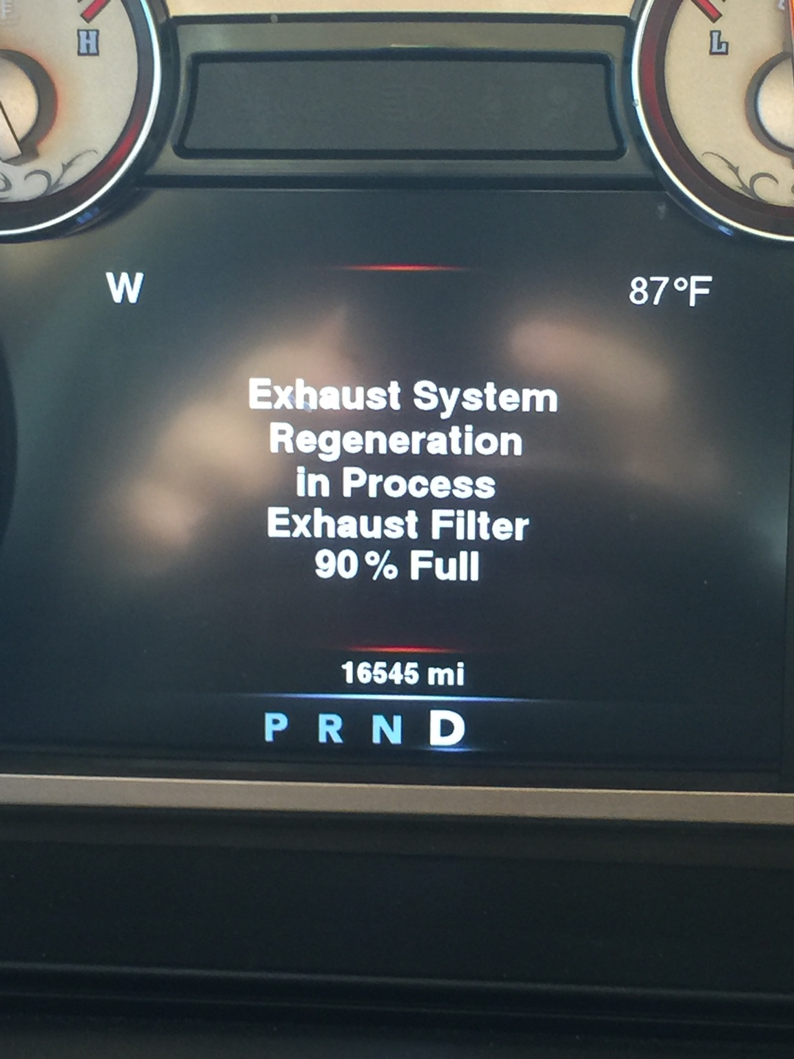 Exhaust System Regeneration  What is it doing and what does it mean?