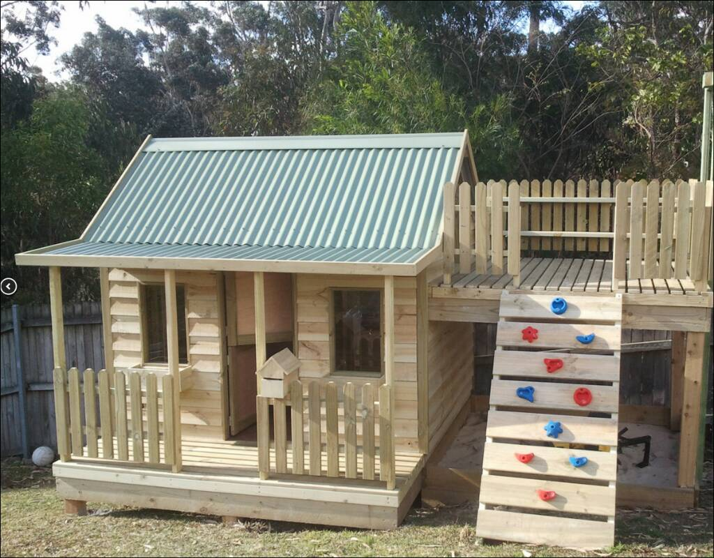 Cubby House - Cladding options