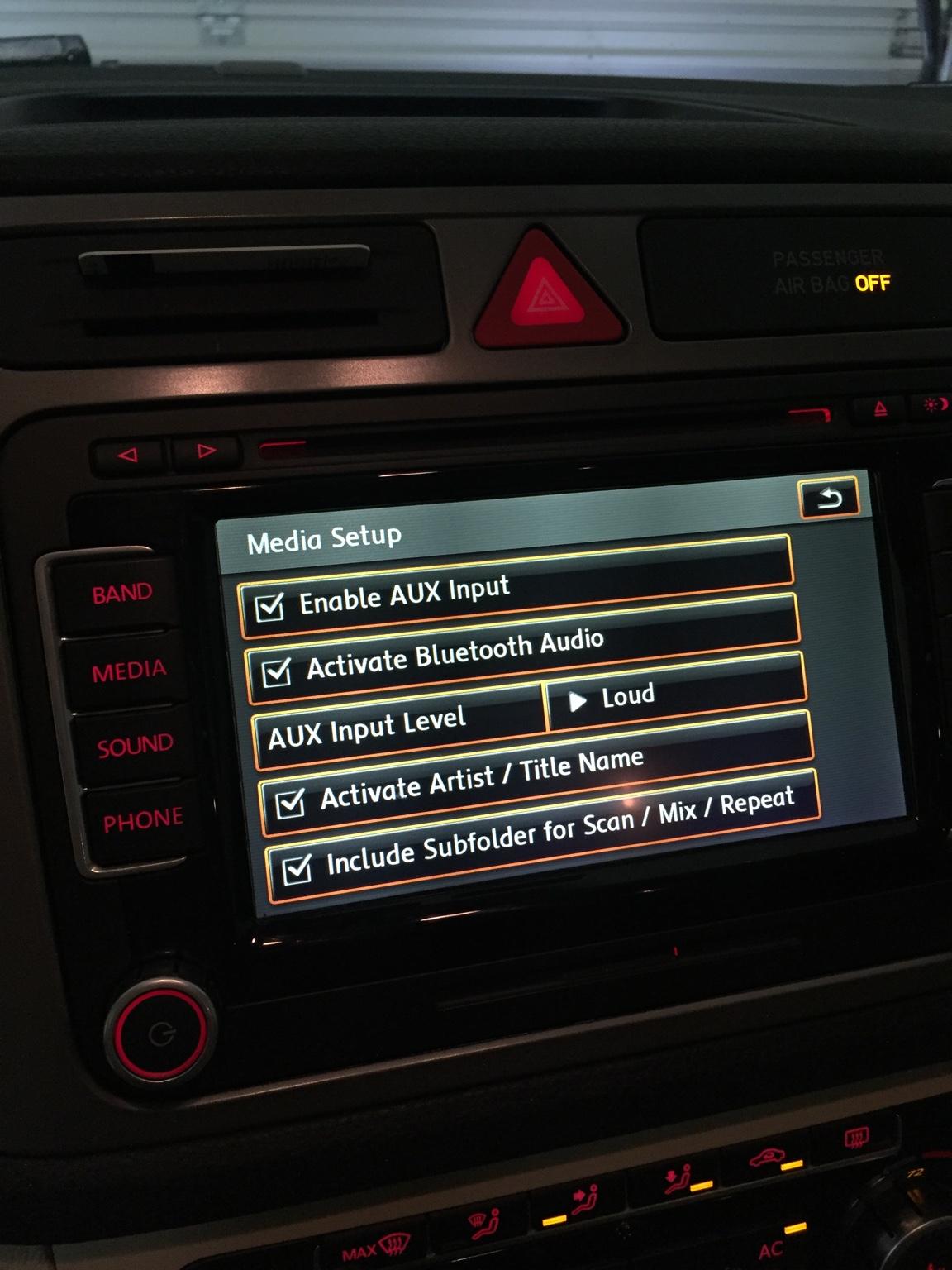 VWVortex com - 2010 Tiguan BT audio