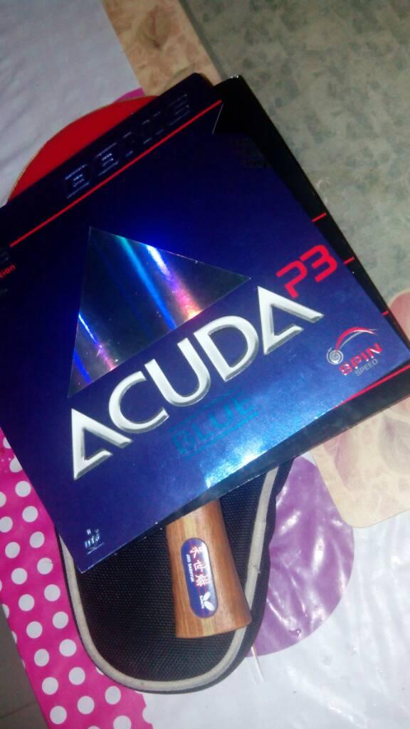 New Donic Acuda Blue + Desto F1 plus - OOAK Table Tennis Forum