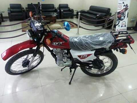 United trail bike DT125 - 6daec70a6d7ccea76540280120e8376c