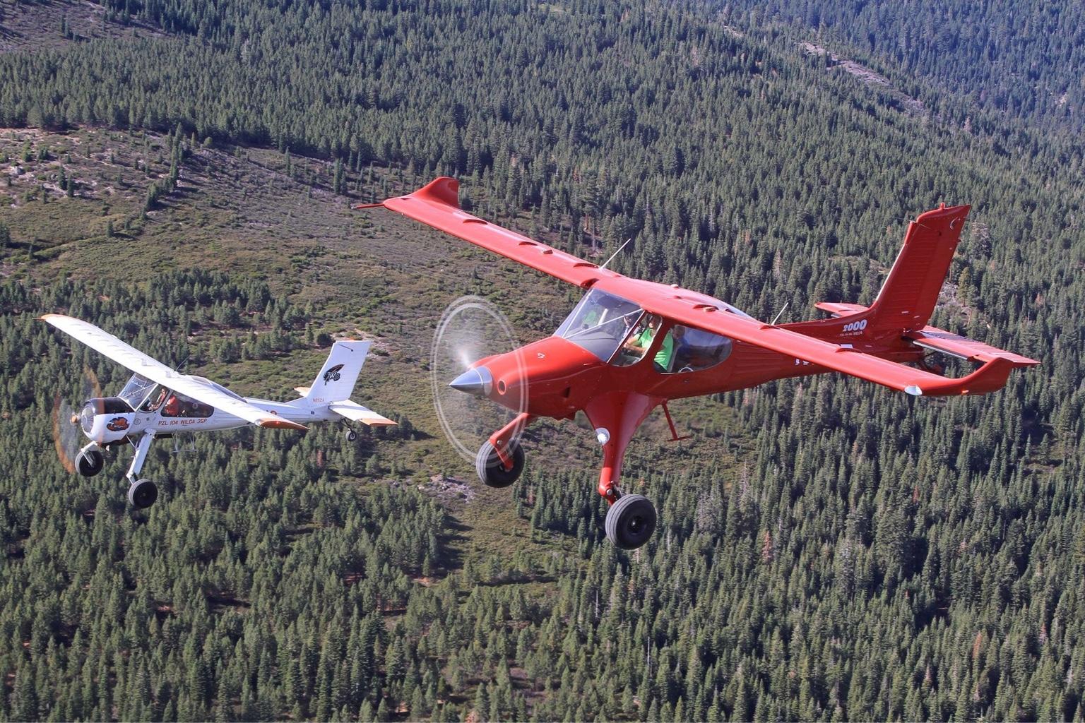 Wilga Beasts girl friend - Backcountry Pilot