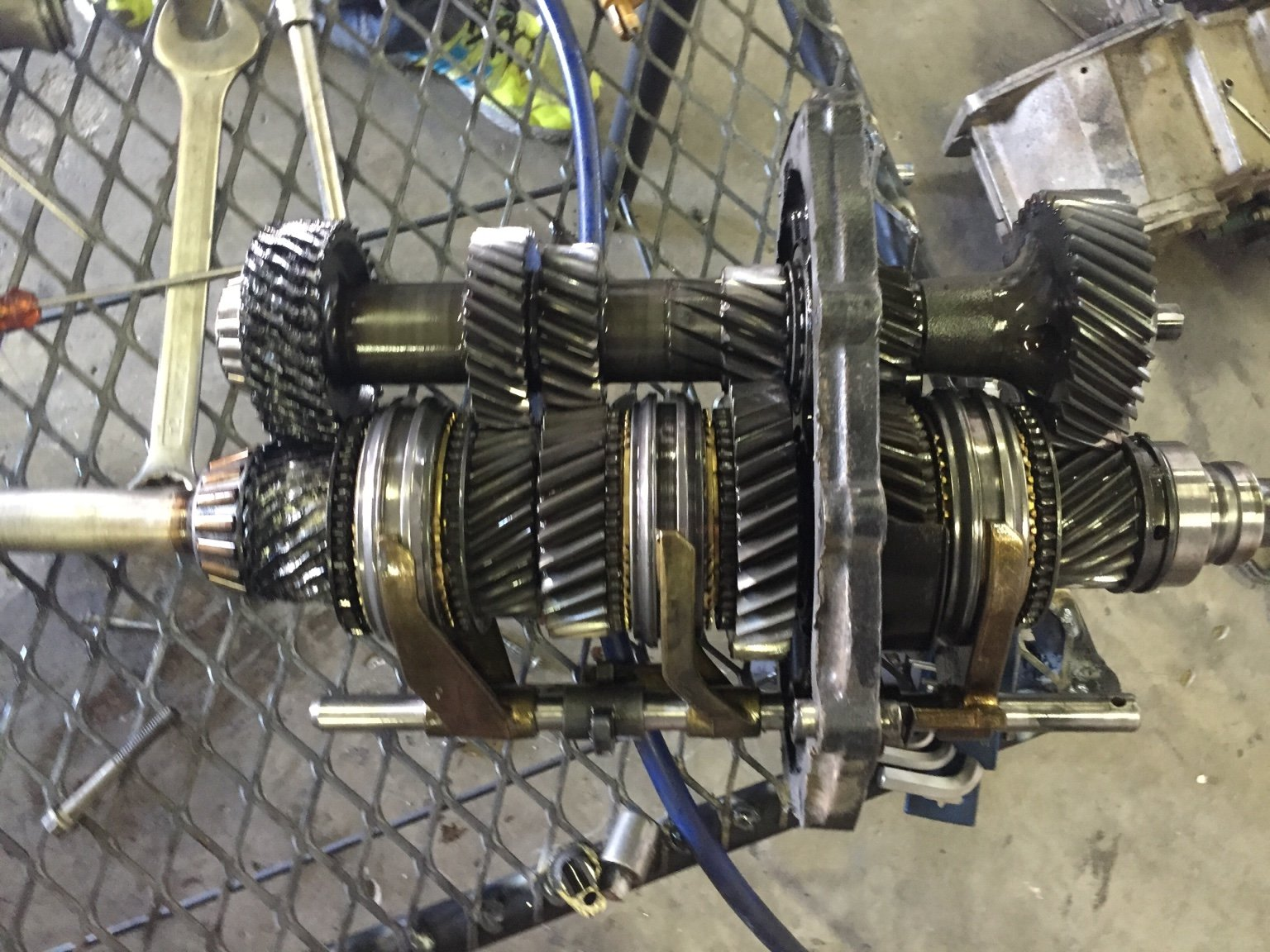 Td5 gearbox