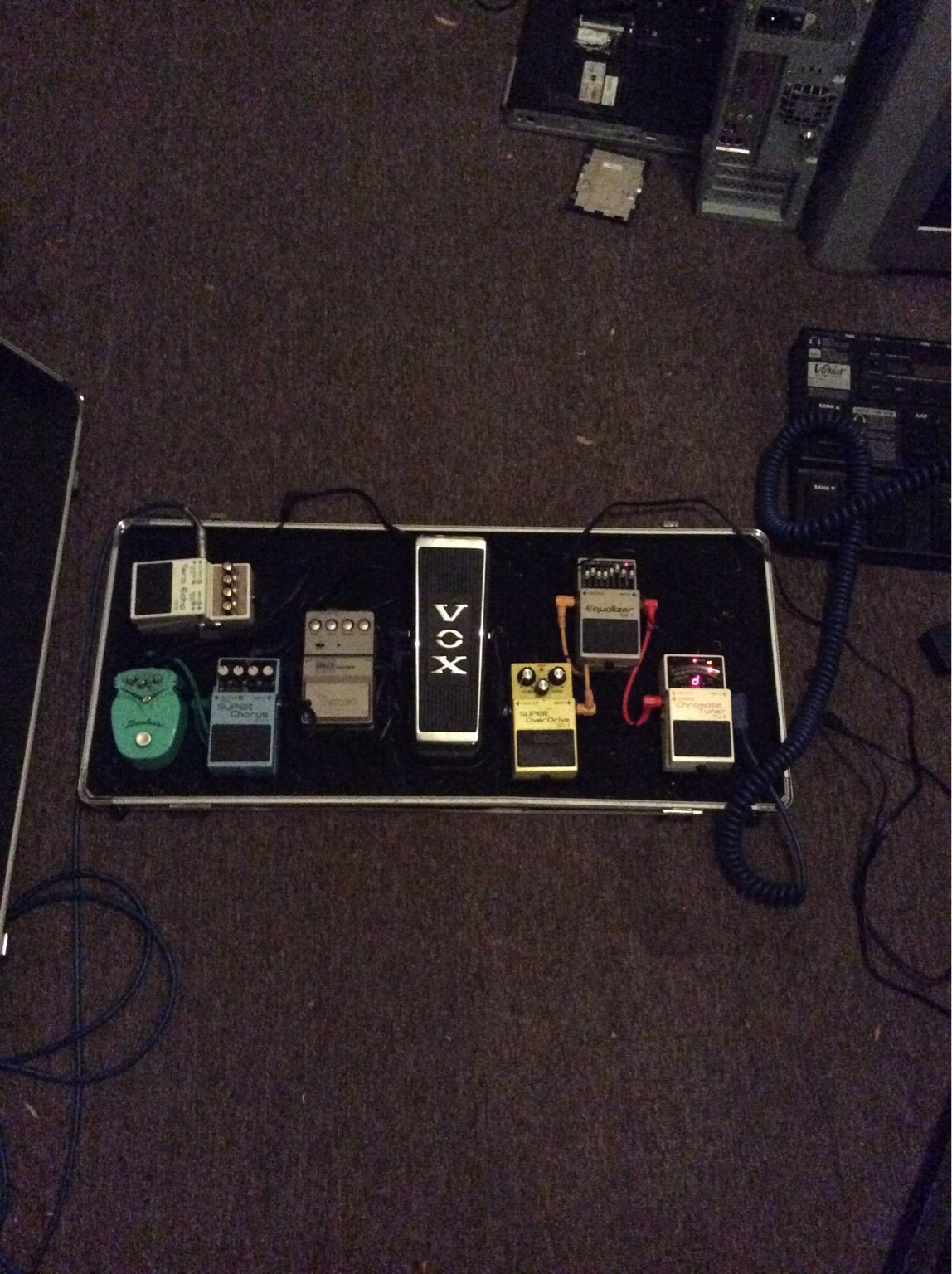 Lets see those pedal boards you are using right now  - Page 5