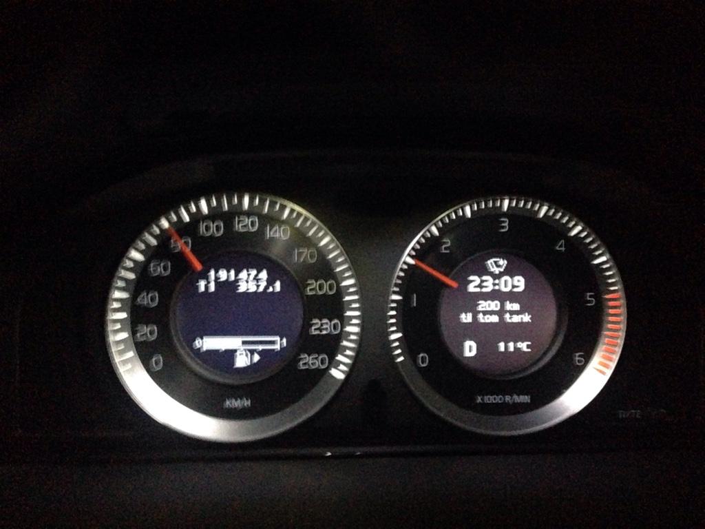 Volvo xc70 d4 förbrukning
