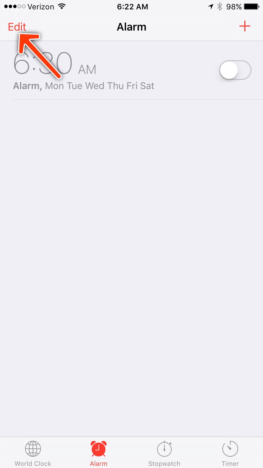 My alarm keeps going off, how do I stop it? - iPhone, iPad