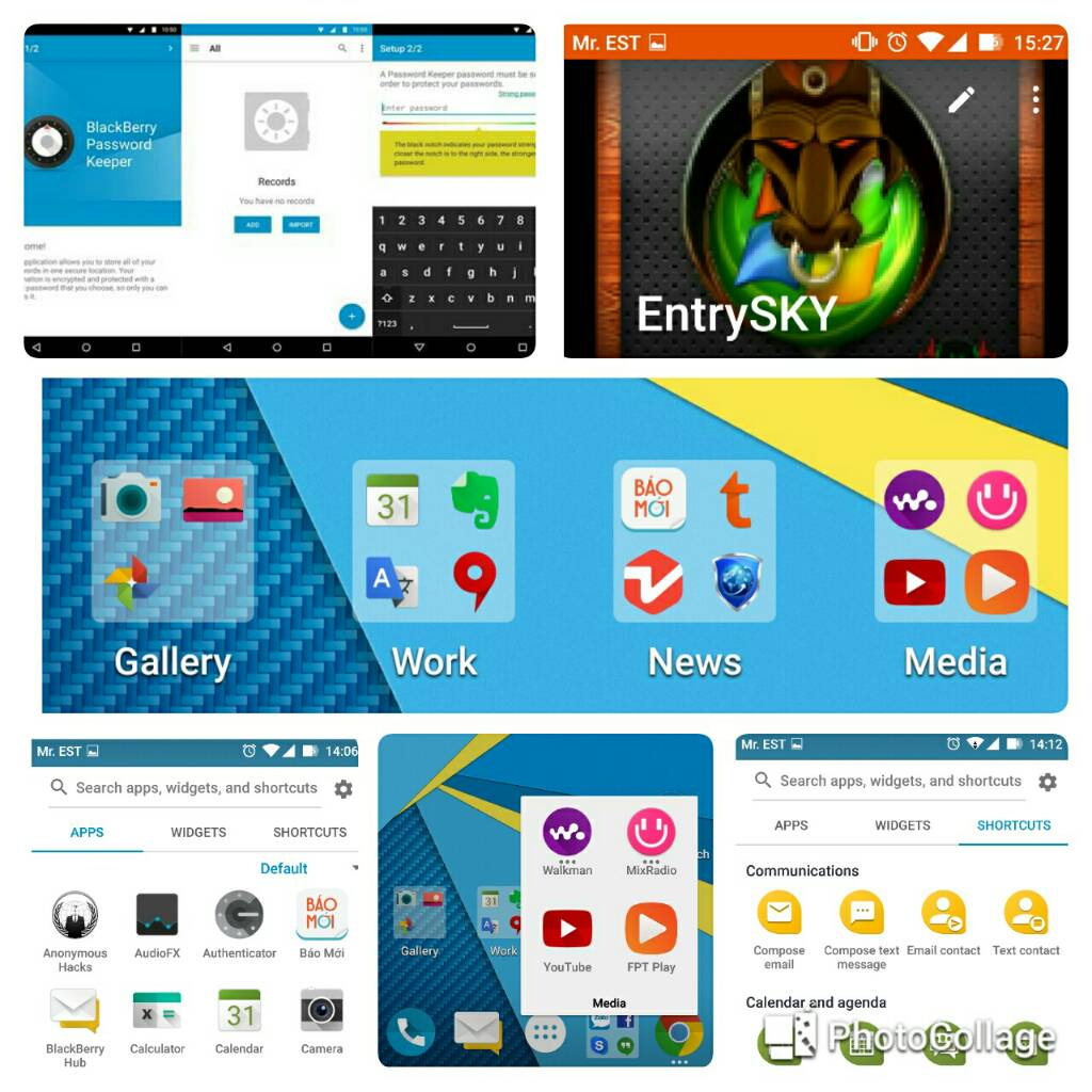 BlackBerry Priv Apps
