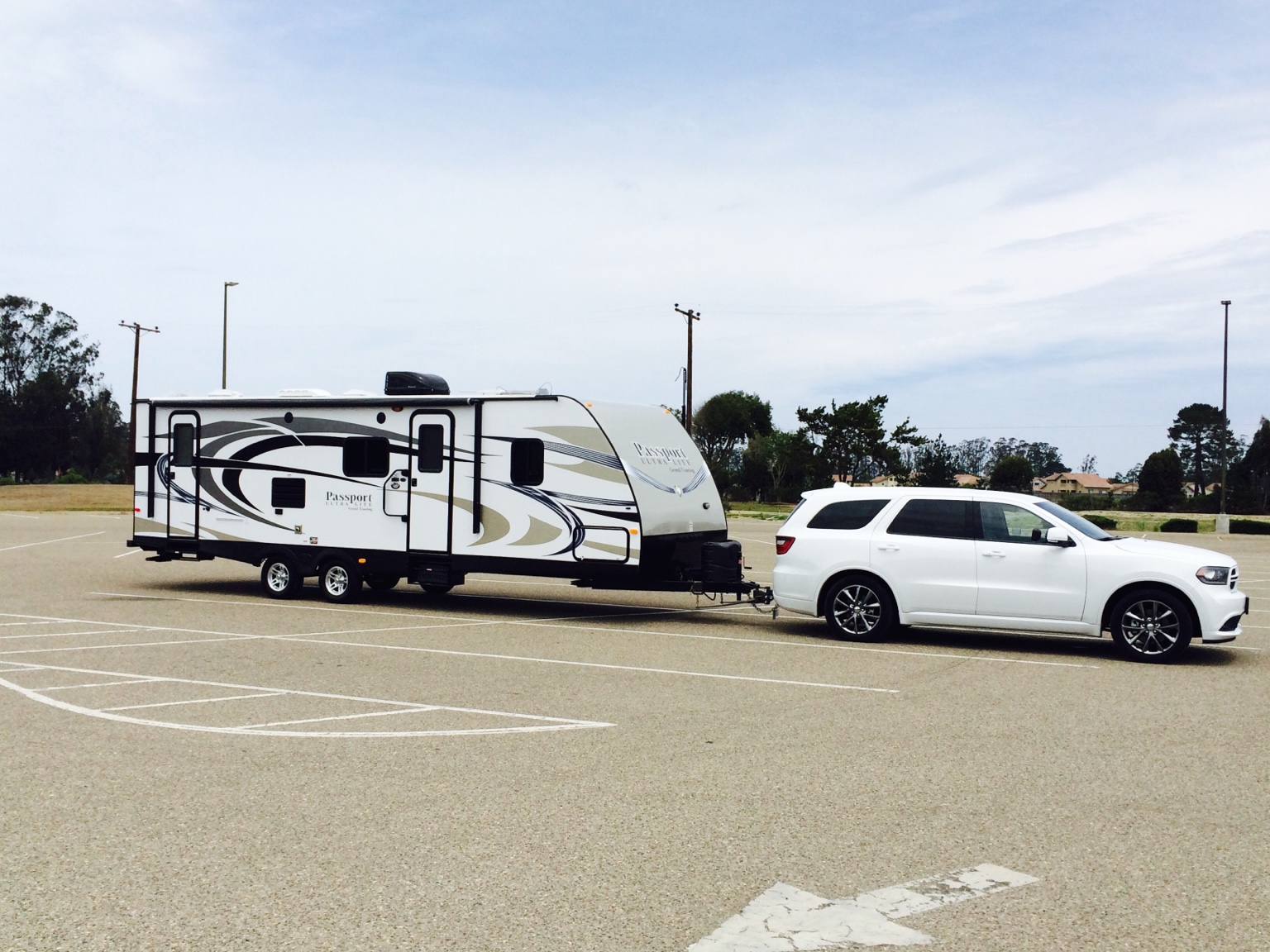 Towing A Travel Trailer With A 2013 Durango R T With 5 7l Hemi
