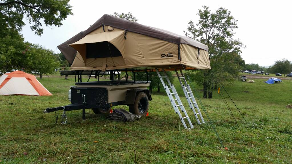 Rooftop Tents | Cascadia Vehicle Roof Top Tents & WTS WTT: CVT Mt Mckinley Stargazer RTT w/annex - Toyota FJ Cruiser ...