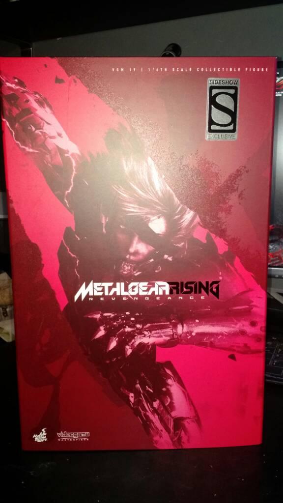 Tv, Film & Game Replica Blades Dynamic Metal Gear Rising Murasama Red Katana Replica Knives, Swords & Blades