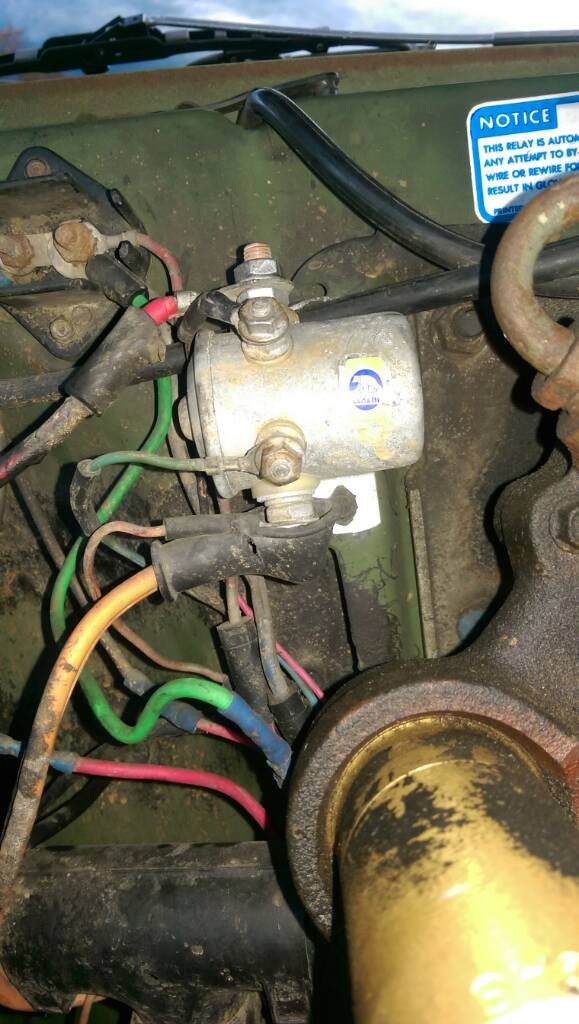 IL - M1009 Will Not Start [Archive] - Steel Solrs::Military ... M Wiring Diagram Of Glow Plugs on