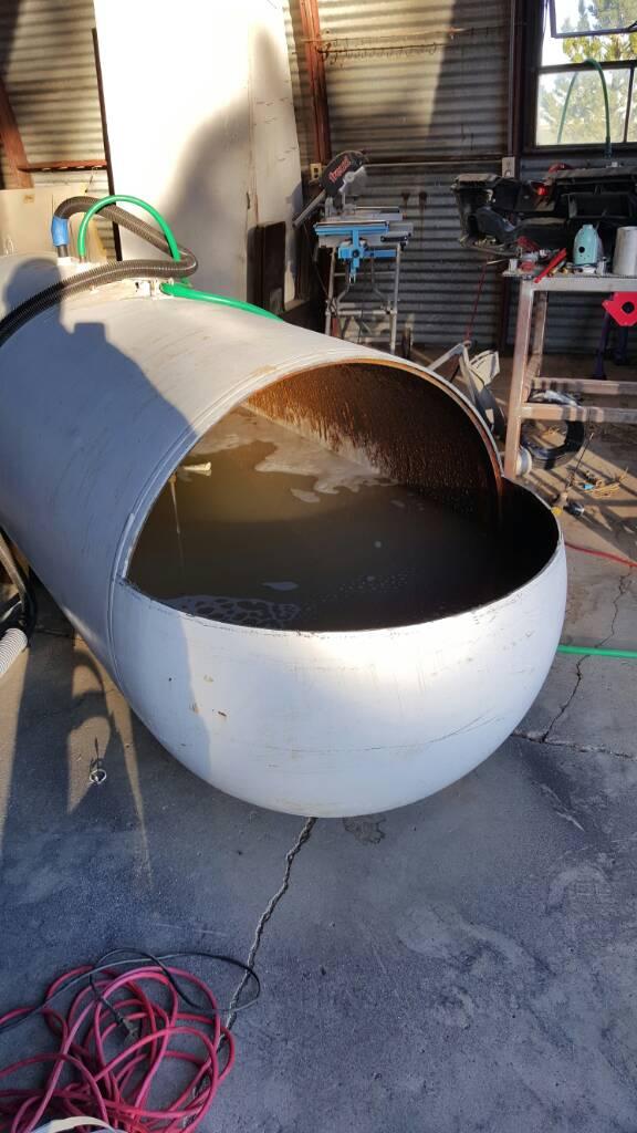500 Gallon Reverse Flow Build - SmokerBuilder com