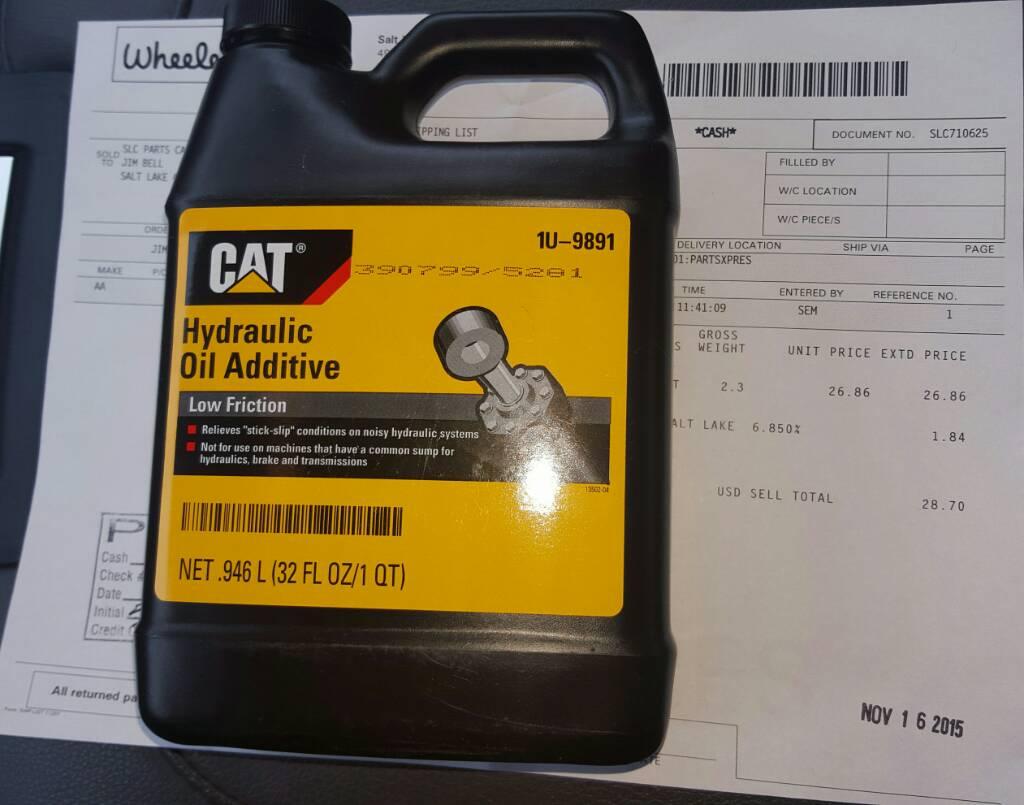 Cat Hydraulic Oil Additive 1u 9891 Sds - All About Foto Cute