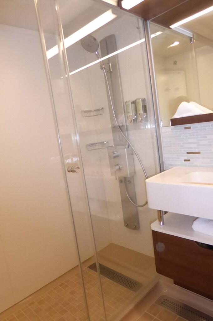 Escape The Room Bathroom mini-suite vs balcony - cruise critic message board forums