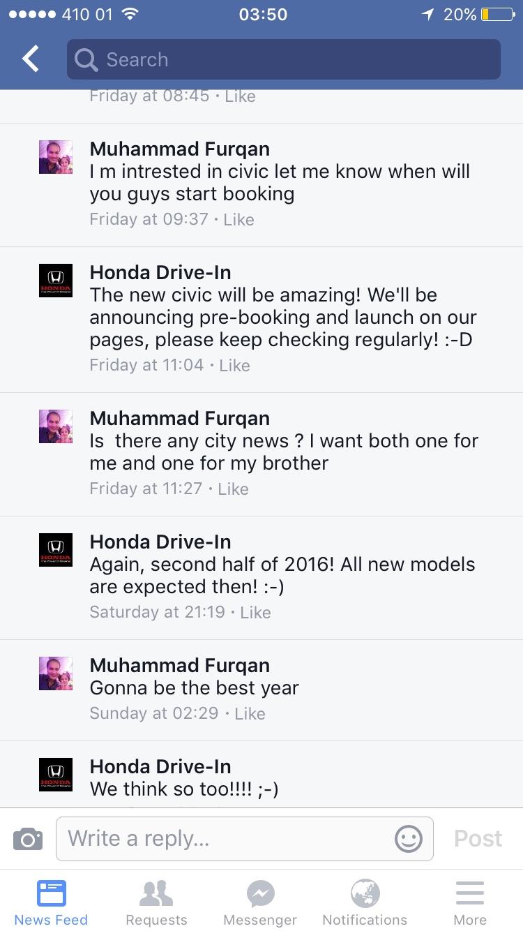 Honda City 2014 Pakistan launch - 565ac273c9eef2450600687687d23000