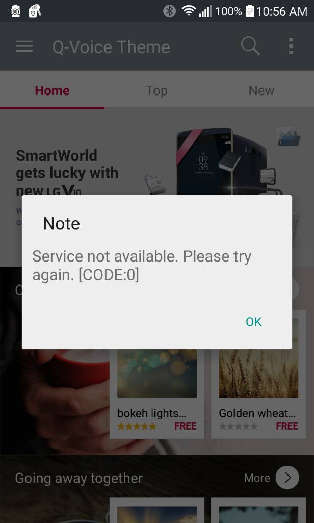 Lg smart world error - Android Forums at AndroidCentral com